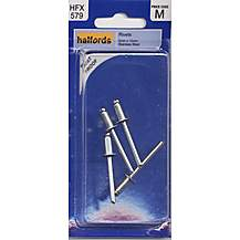 image of Halfords Stainless Steel Rivets 5mmx10mm