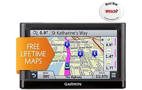"image of Ex Display Garmin Nuvi 55 LM 5"" UK, Ireland & Western Europe Lifetime Maps"