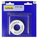 image of Halfords PTFE Thread Seal Tape 12mmx12m