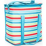 image of Polar Gear Stripe Family Cool Bag