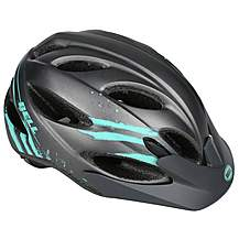 image of Bell Strut Womens Bike Helmet - Gunmetal Mint Sonic
