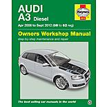 Haynes Audi A3 Hatchback & Sportback Diesel Engine Manual (2008-2012)