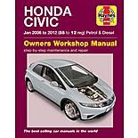 Haynes Honda Civic Hatchback Petrol & Diesel Engines 2005-2012