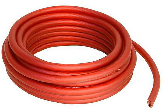 Proflex 8mm/8awg Red Power Cable 5m