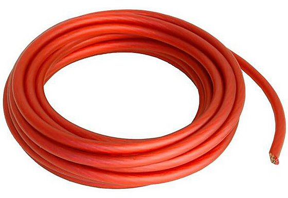 Proflex 6mm/10awg Red power Cable 5m