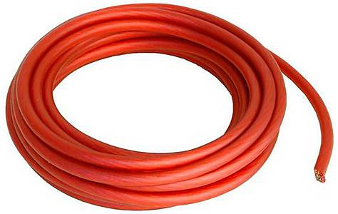 image of Proflex 6mm/10awg Red power Cable 5m
