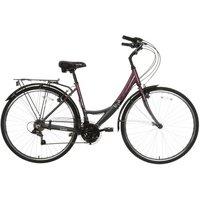 "Apollo Elyse Womens Hybrid Bike - Purple, 16"""