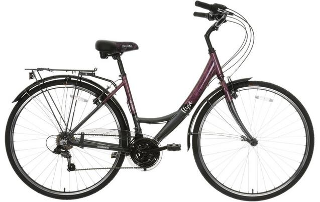 Apollo Elyse Womens Hybrid Bike 1