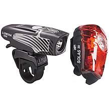 image of NiteRider Lumina 550 & Solas 30 Bike Light Set