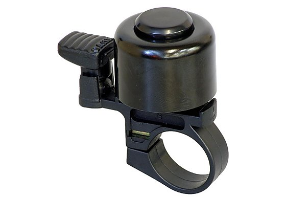 Halfords Black Bike Bell