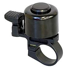 image of Halfords Black Bike Bell