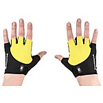 image of Boardman Mens Cycling Mitts - Yellow