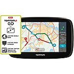"image of TomTom GO 51 5"" Sat Nav with MyDrive and Lifetime Traffic and Lifetime World Maps"