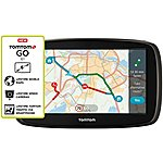 "image of TomTom GO 61 6"" Sat Nav with MyDrive & Lifetime Traffic & Lifetime World Maps"