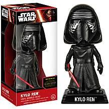 image of Star Wars Kylo Ren Wacky Wobbler