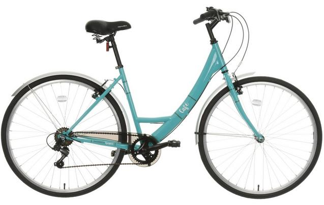 Apollo Cafe Womens Hybrid Bike 16