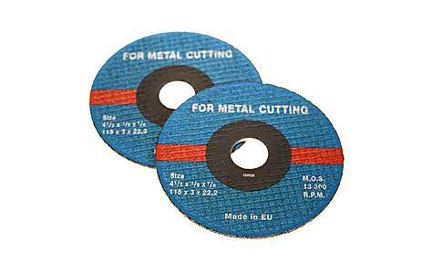 image of Halfords 115mm Metal Cutting Wheels