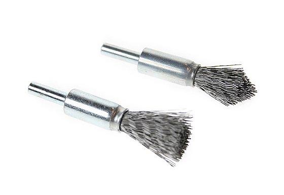 Halfords Wire Brush Twin Pack