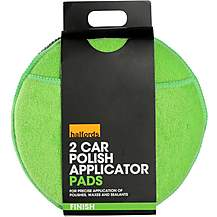 image of Halfords Car Polish Applicator Pads (Pack of 2)