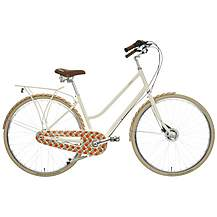 image of Orla Kiely Womens Classic Bike - Orange Design