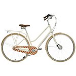 image of Orla Kiely Womens Classic Bike - Orange Design