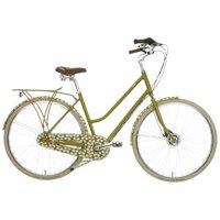 "Orla Kiely Womens Classic Bike - Green Leaf Design, 19"""