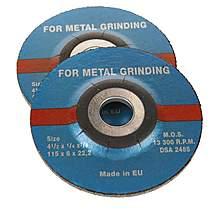 image of Halfords 115mm Metal Grinding Wheel