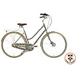image of Orla Kiely Womens Classic Bike - Olive Frame Design