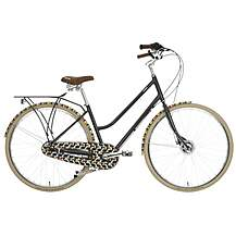 "image of Olive and Orange by Orla Kiely Womens Classic Bike - Olive Design - 17"", 19"" Frames"