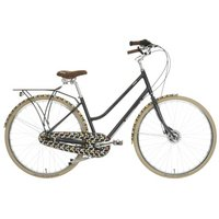 Orla Kiely Womens Classic Bike - Olive Design, 19""