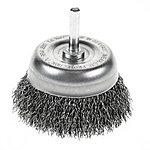 image of Halfords 75mm Wire Cup Brush