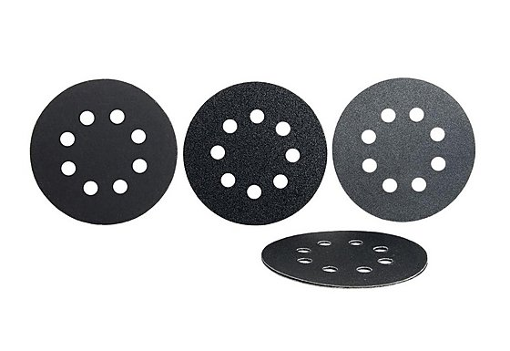Halfords 6 Assorted Sanding Discs