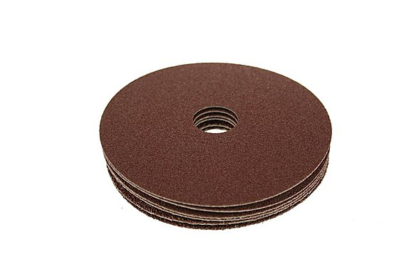 Halfords Fibre Sanding Discs 115mm Diameter