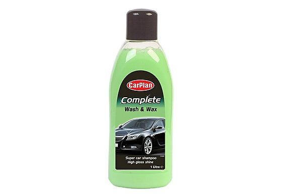 CarPlan Complete Car Wash & Wax 1 Litre