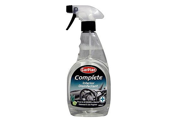 CarPlan Complete Car Interior Disinfectant 500ml