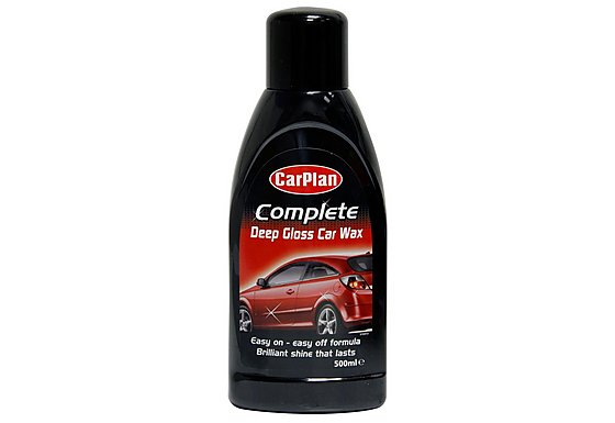 CarPlan Complete Deep Gloss Car Wax 500ml