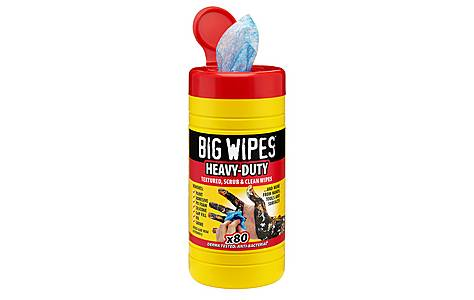image of Big Wipes Industrial Plus x 80