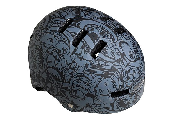 Bell Faction Bike Helmet - Jimbo Wallpaper (54-59cm)