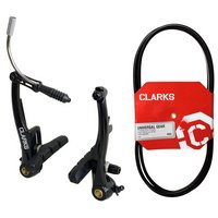 Clarks Single V-Brake Callipers and Clarks Universal Bike Gear Cable