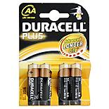 Duracell Plus 4 x AA Batteries