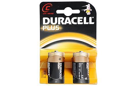 image of Duracell Plus 2 x C Batteries