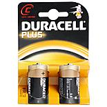 Duracell Plus 2 x C Batteries