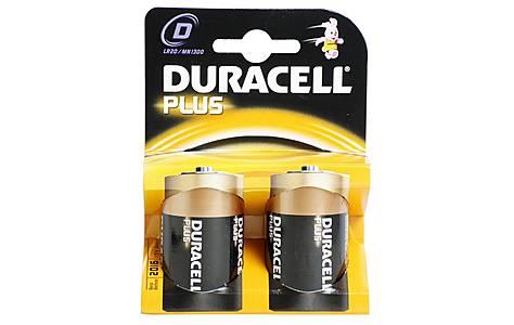 image of Duracell Plus 2 x D Batteries