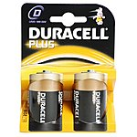 image of Duracell Plus 2 x D Batteries