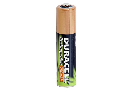 Duracell Rechargeable 4 x AAA Batteries