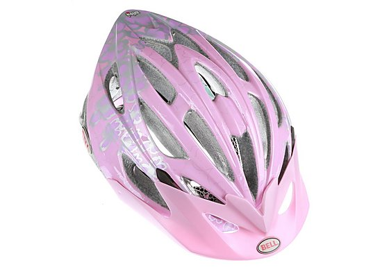 Bell Alibi Bike Helmet - Pink Flowers (50-57cm)