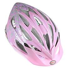 image of Bell Alibi Bike Helmet - Pink Flowers (50-57cm)