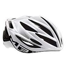 image of MET Forte Bike Helmet - White (52-59cm)