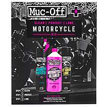 image of Muc-Off Motorcycle Wash, Protect & Lube Kit