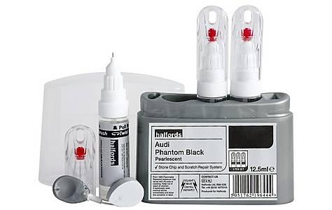 image of Halfords Audi 'Audi Phantom Black' Scratch & Chip Repair Kit